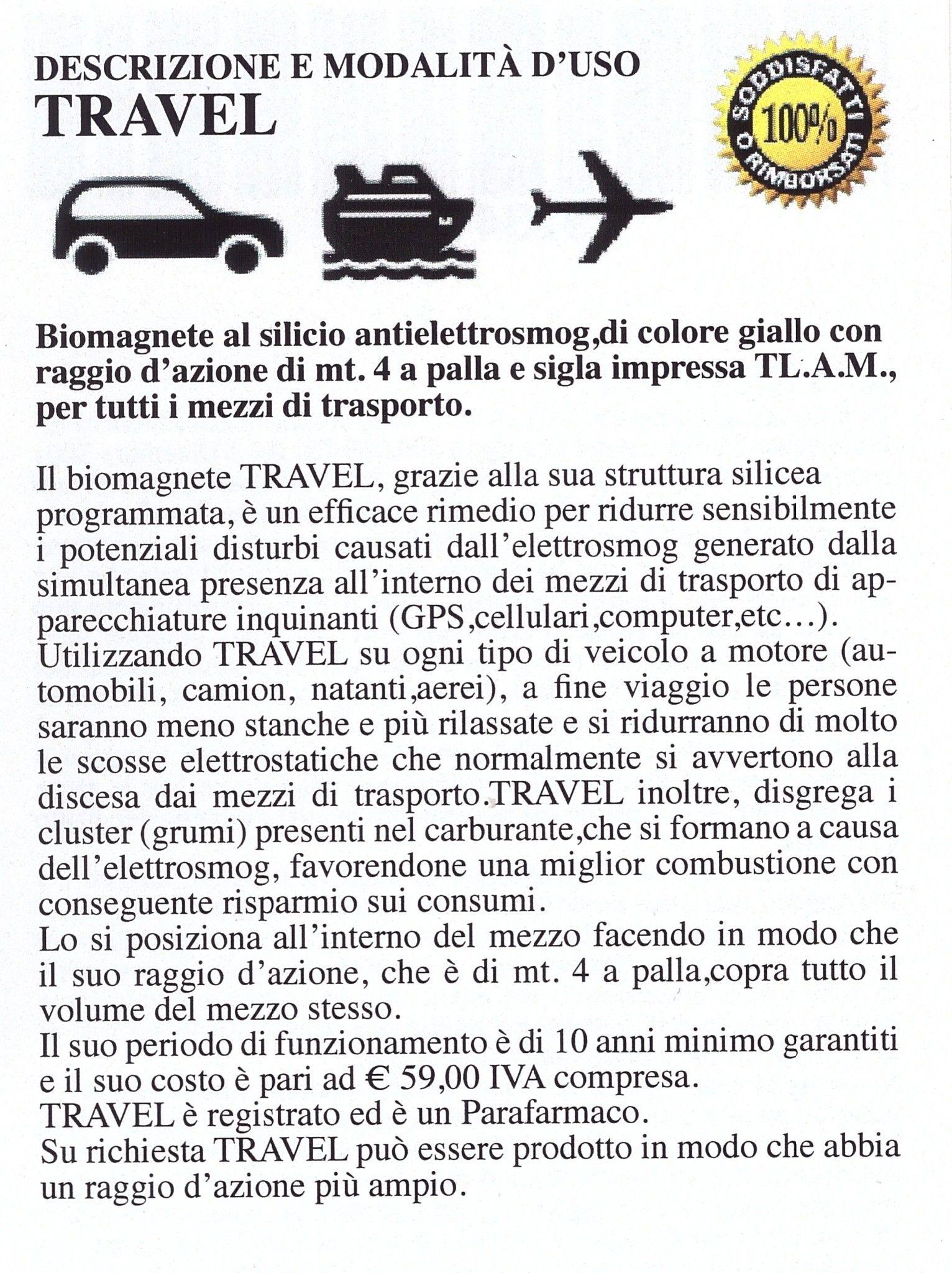 Biomagnete al Silicio Travel