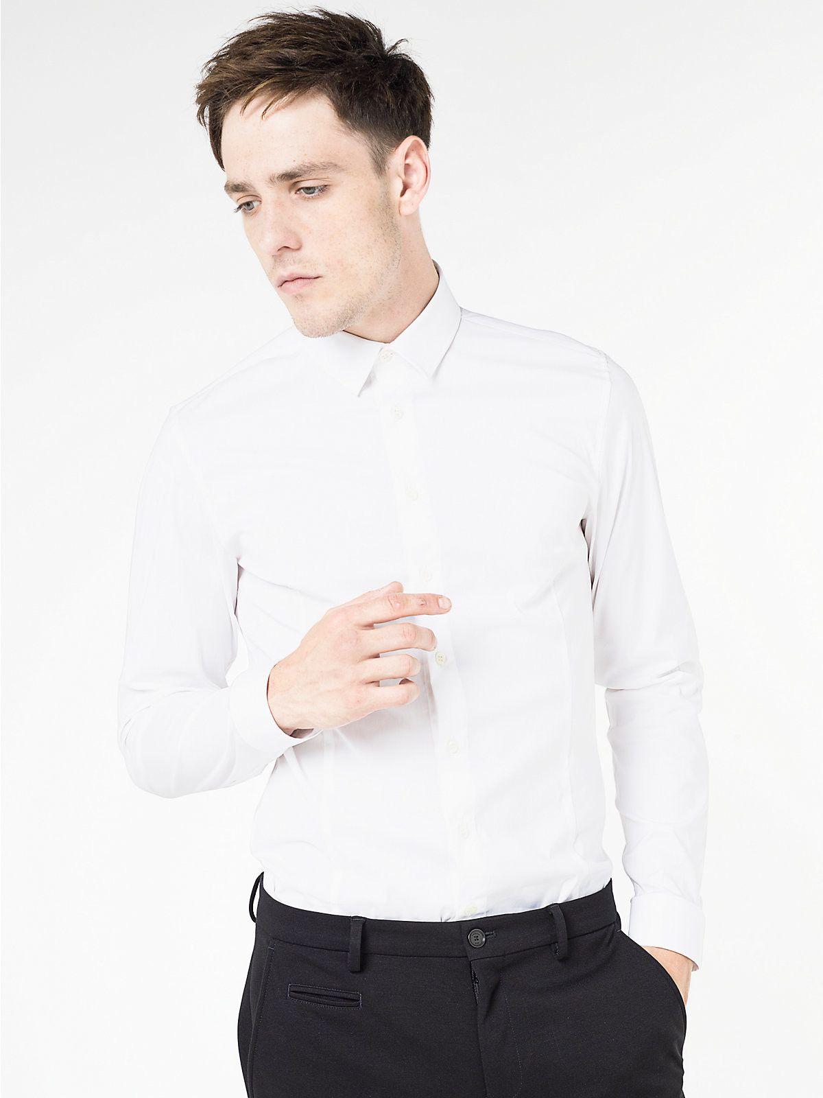 bdf5f9d8e3 -10% PATRIZIA PEPE CAMICIA STRETCH IN POPELINE DI COTONE WHITE |  Abbigliamento Uomo Maglieria | Shop Online: Boutique Irene & Mario