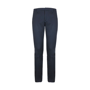 DONDUP PANTALONE IN JERSEY STRETCH BLUE