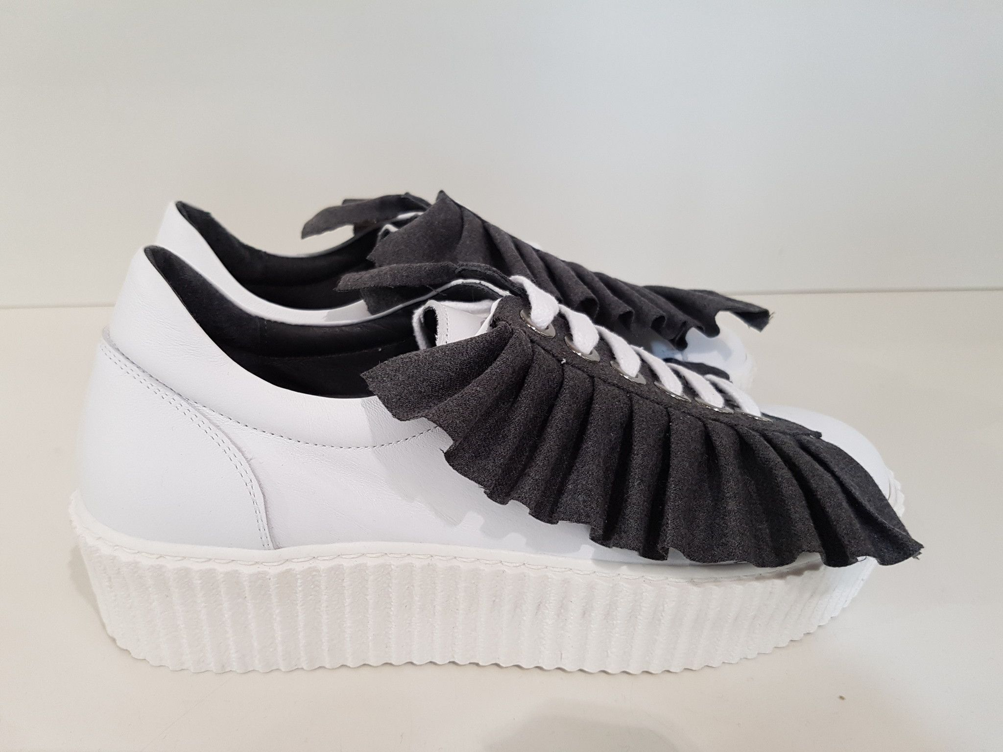 SNEAKERS ALYSI ROUCHES TESSUTO STACCABILE