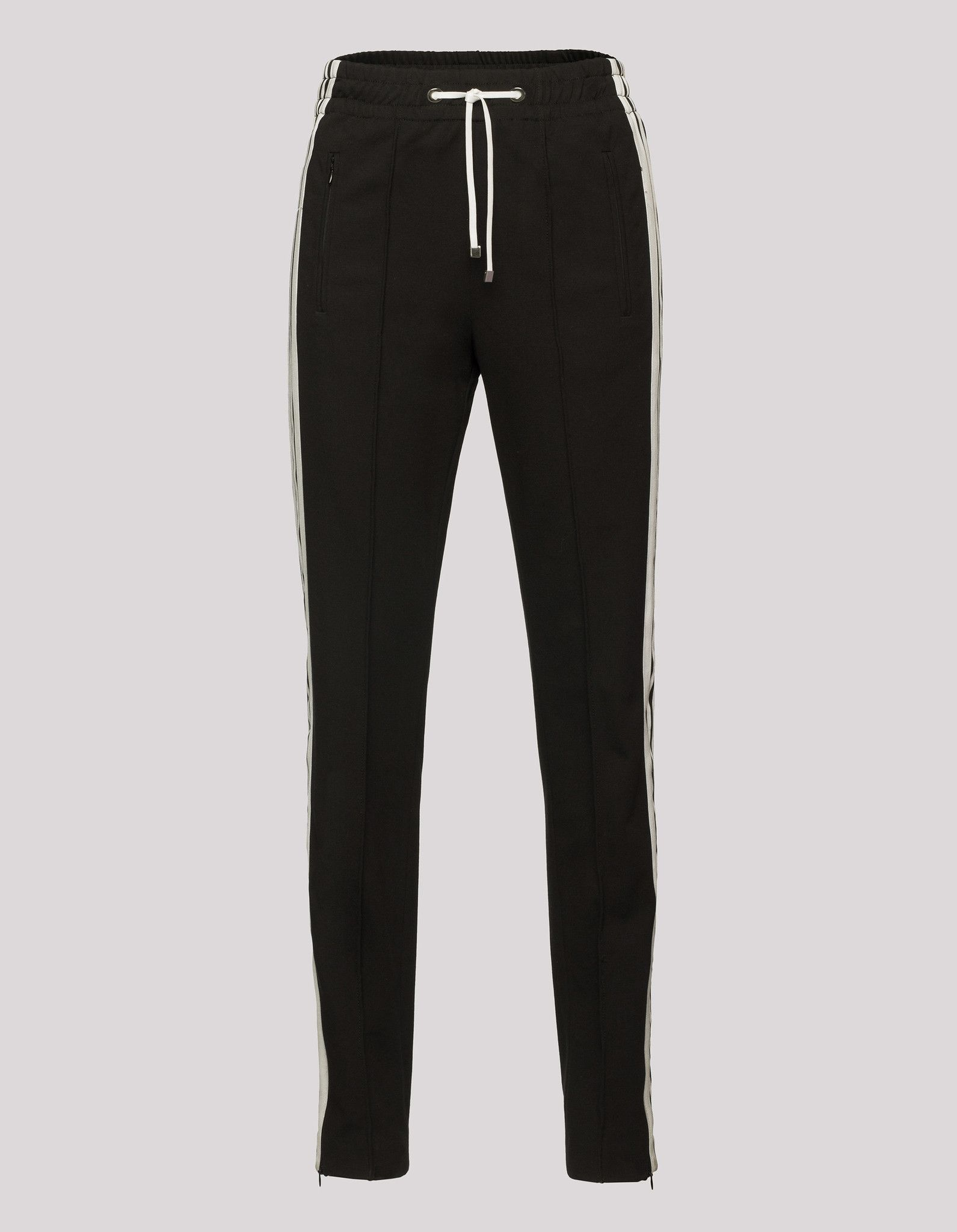 PANTALONE DONDUP JOGGING IN MIX DI VISCOSA STRETCH