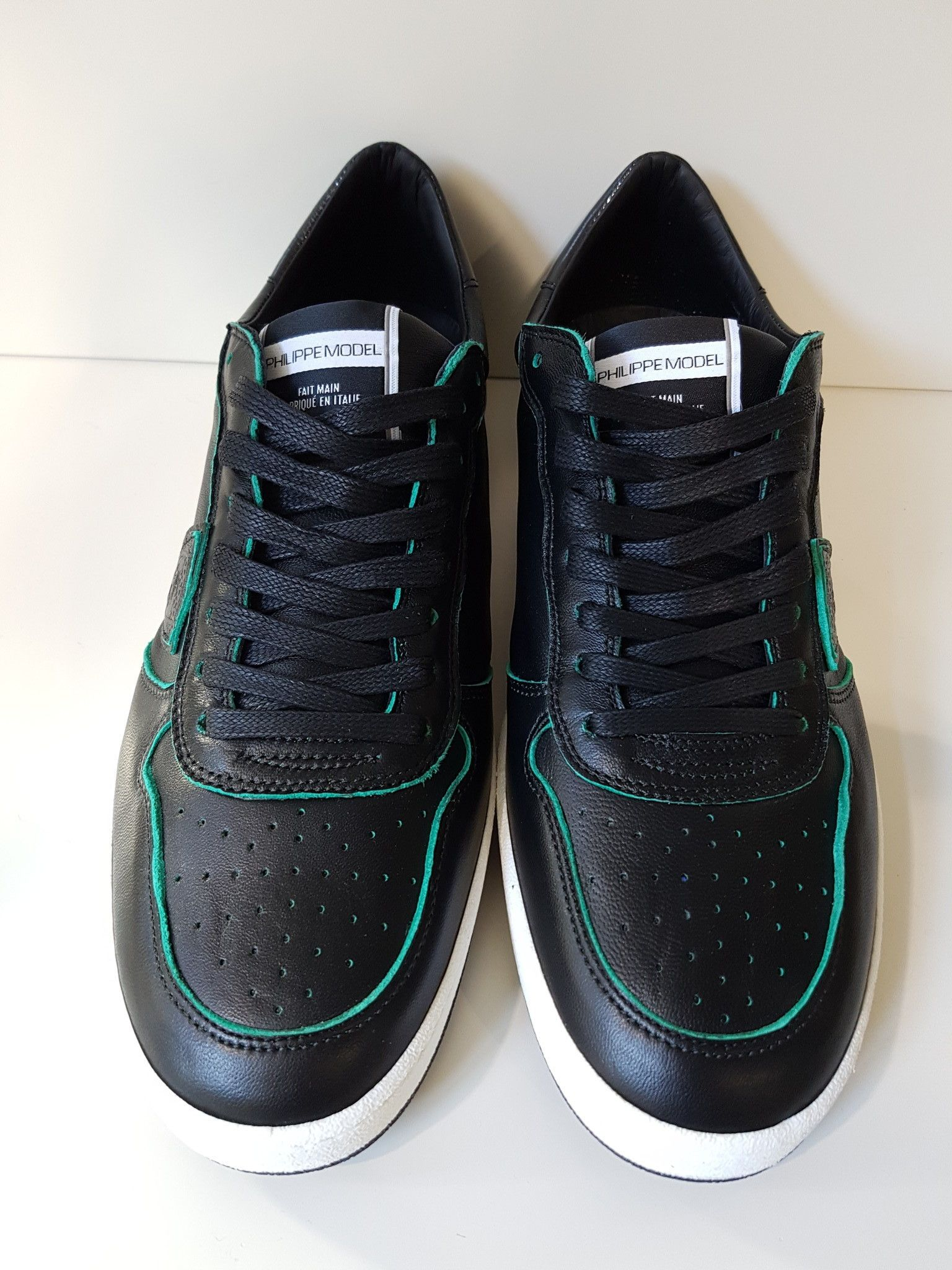 PHILIPPE MODEL LAKERS VN01 GREEN BLACK