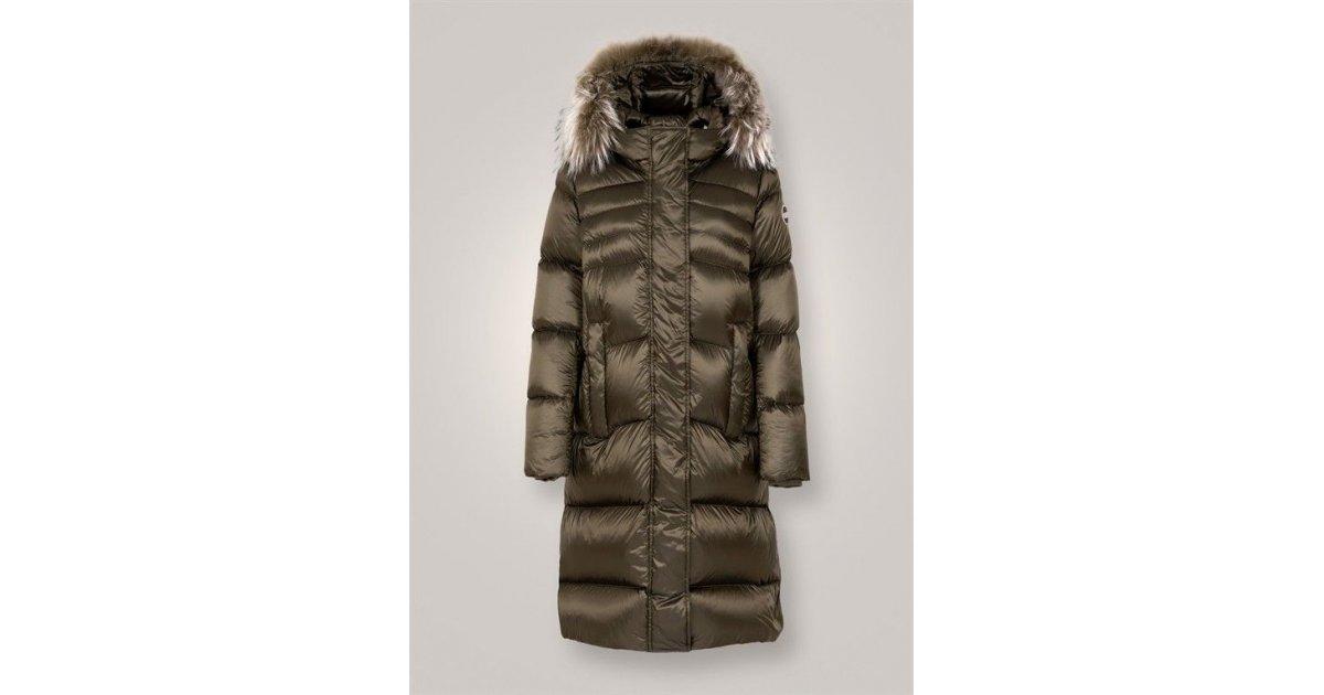 2f593ae769 -50% COLMAR MAXI PIUMINO LUCIDO CON PELLICCIA | Outlet Firme Donna  Abbigliamento | Shop Online: Boutique Irene & Mario