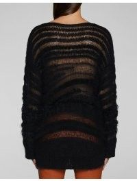 Pullover Effetto Nero Tricot Dondup Pullover Dondup qxSnaP78n
