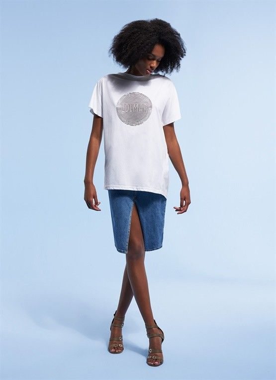 COLMAR T-SHIRT RESEARCH STAMPA OPTICAL