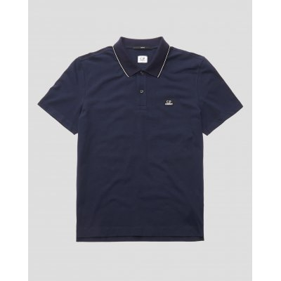 CP COMPANY POLO DARK BLU IN PIQUET