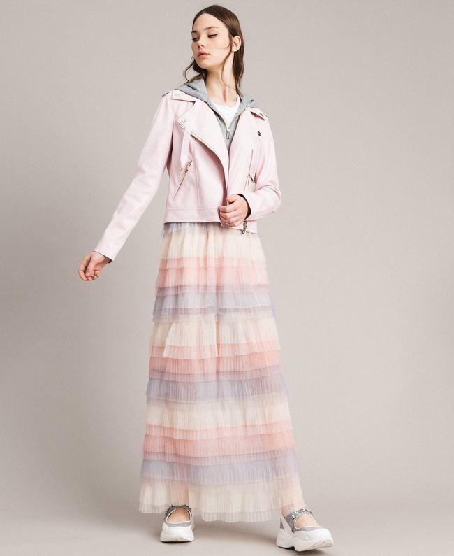 sale retailer 1e950 57579 -50% MYTWIN GONNA LUNGA CON BALZE PLISSE' | Outlet Firme Donna  Abbigliamento | Shop Online: Boutique Irene & Mario