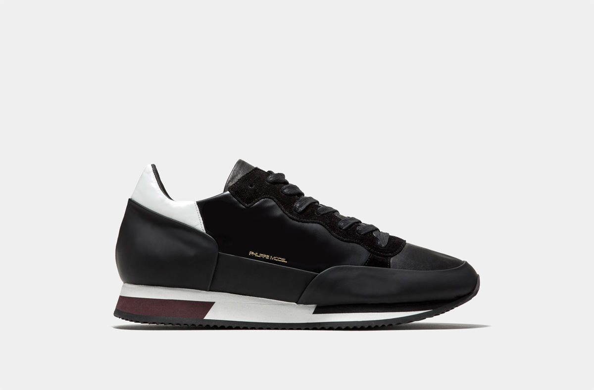 0f52013103 -50% PHILIPPE MODEL PARADIS NERO SNEAKER BASSA RS01   Outlet Firme Uomo  Sneakers   Shop Online: Boutique Irene & Mario