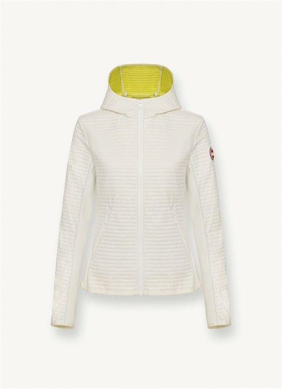 30% COLMAR GIACCA BIANCA IN OVATTA CON CAPPUCCIO   Abbigliamento Donna Capispalla   Shop Online: Boutique Irene & Mario