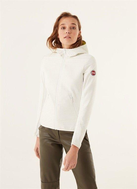 5% COLMAR GIACCA BIANCA IN OVATTA CON CAPPUCCIO | Abbigliamento Donna Capispalla | Shop Online: Boutique Irene & Mario