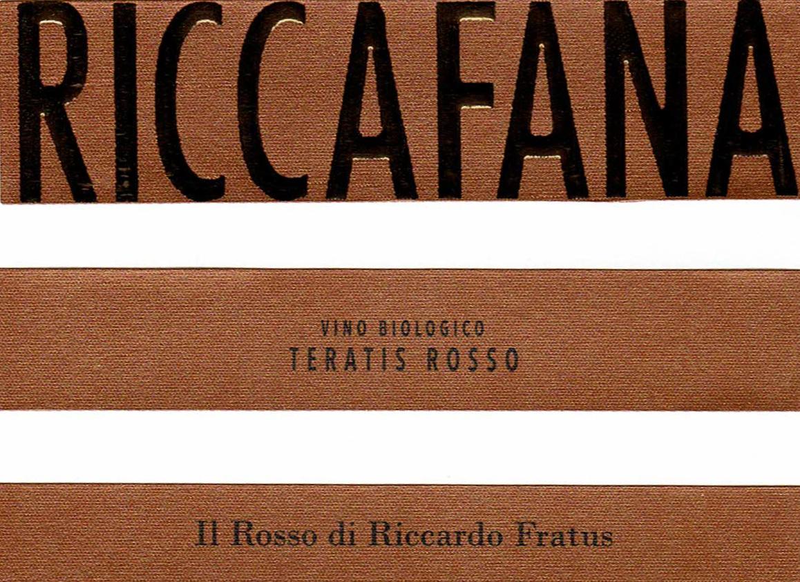 Teratis: il Rosso di Riccardo Fratus