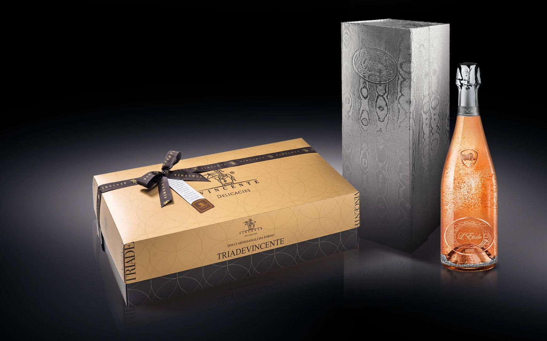 Rose Dream - L'Etoile Rosè Magnum con tris degustazione di panettoni Vincente