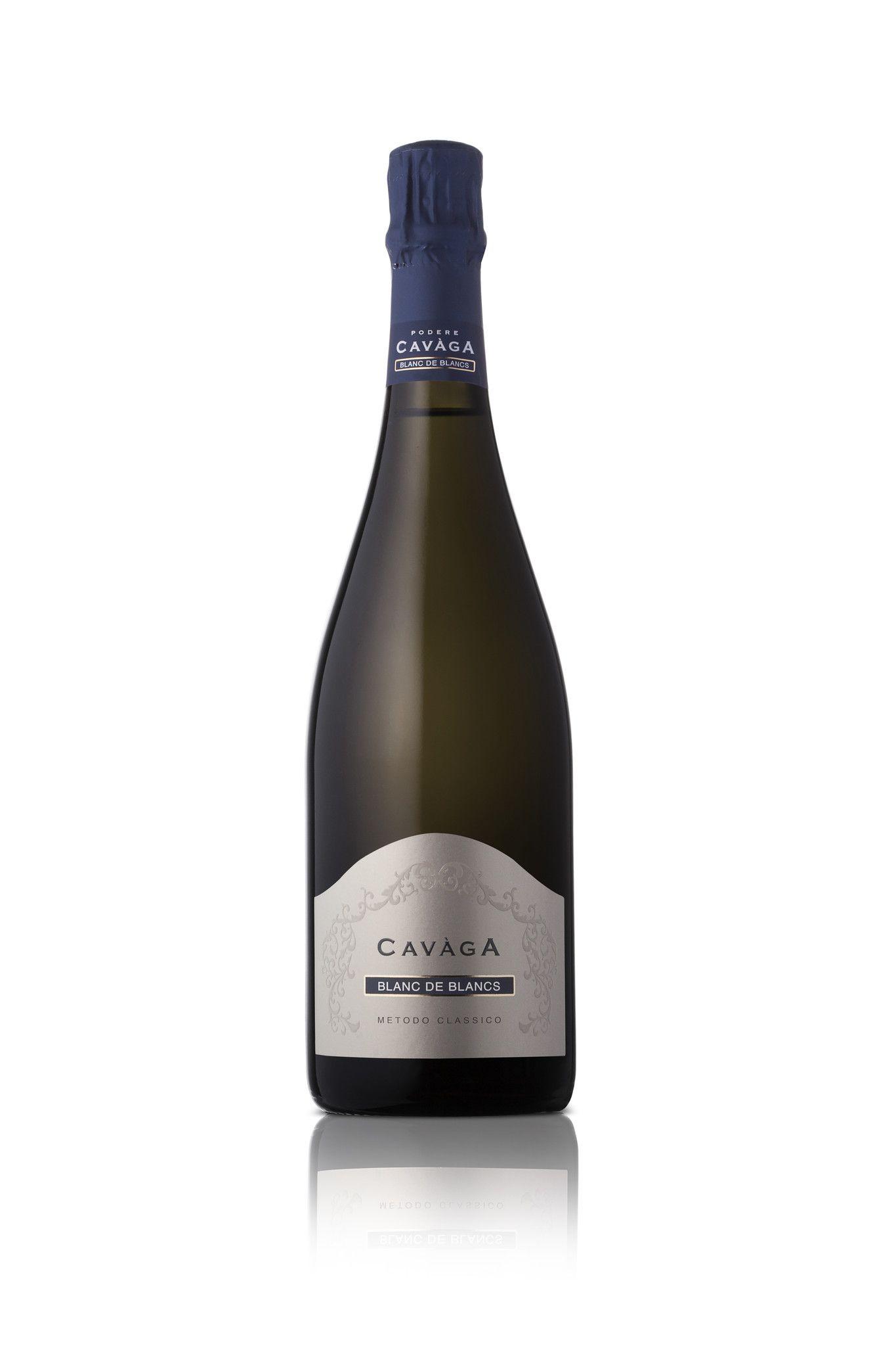 Spumante Bollicine Blanc de Blancs Metodo Classico Cavaga 2012 0,75 lt
