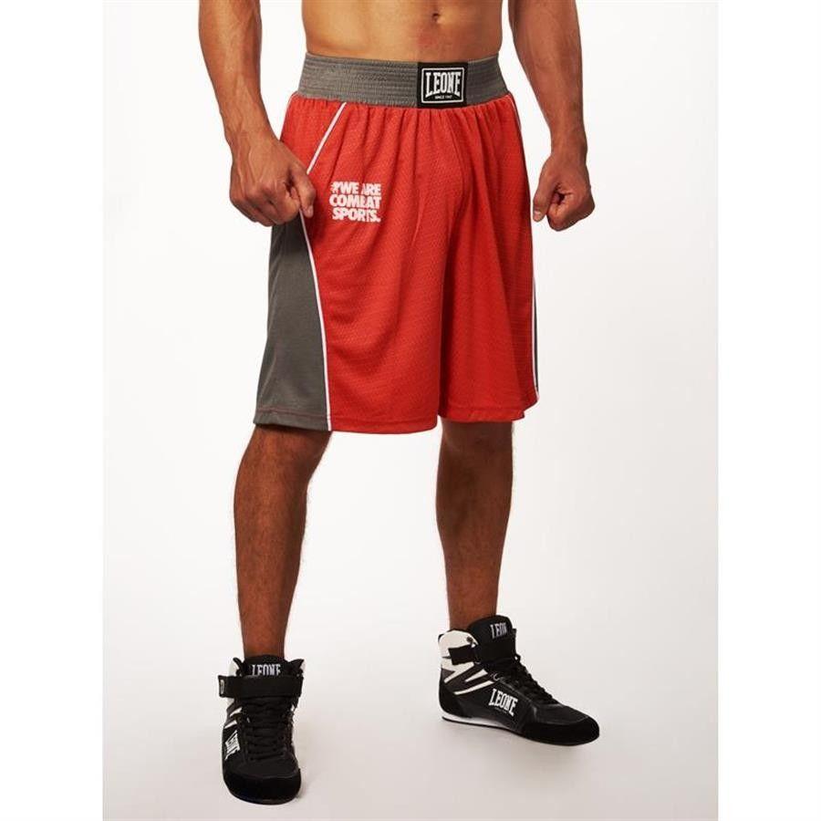 Pantaloncini da boxe Leone Corner AB729