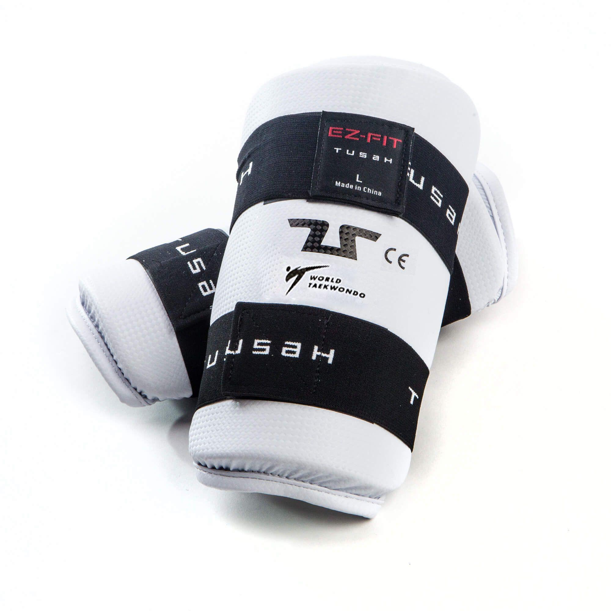 KIT Offerta Protezioni per Taekwondo Tusah Completo Omologato WT WTF Senza Parapiedi