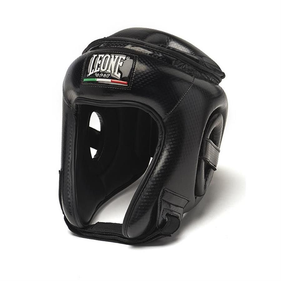 Leone Carbon CS411 Casco per Boxe, Kick Boxing, Muay Thai
