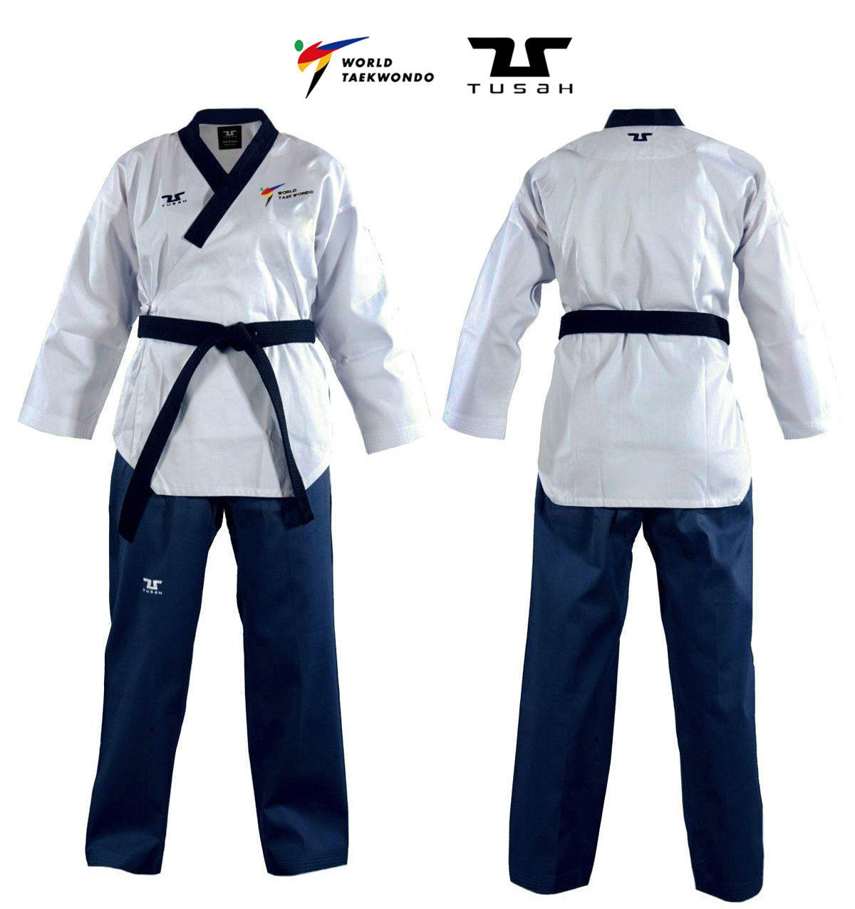 Tusah - Poomsae Easyfit Dan Femminile per Taekwondo Omologato WT per forme e competizioni
