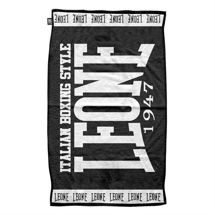 Asciugamano da ring Leone AC914 Nero