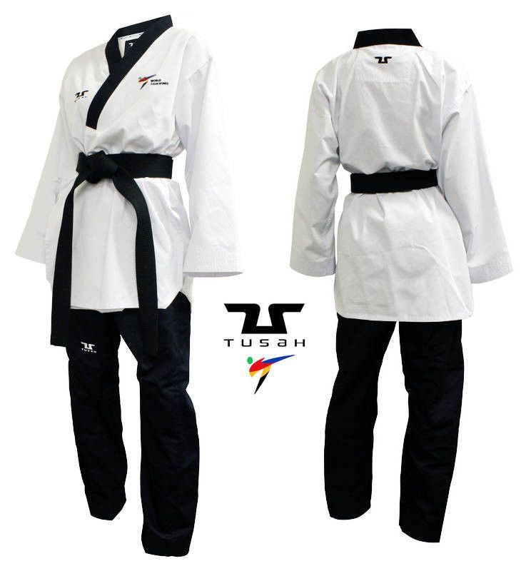 Tusah - Poomsae Easyfit Dan Maschile per Taekwondo Omologato WT per forme e competizioni