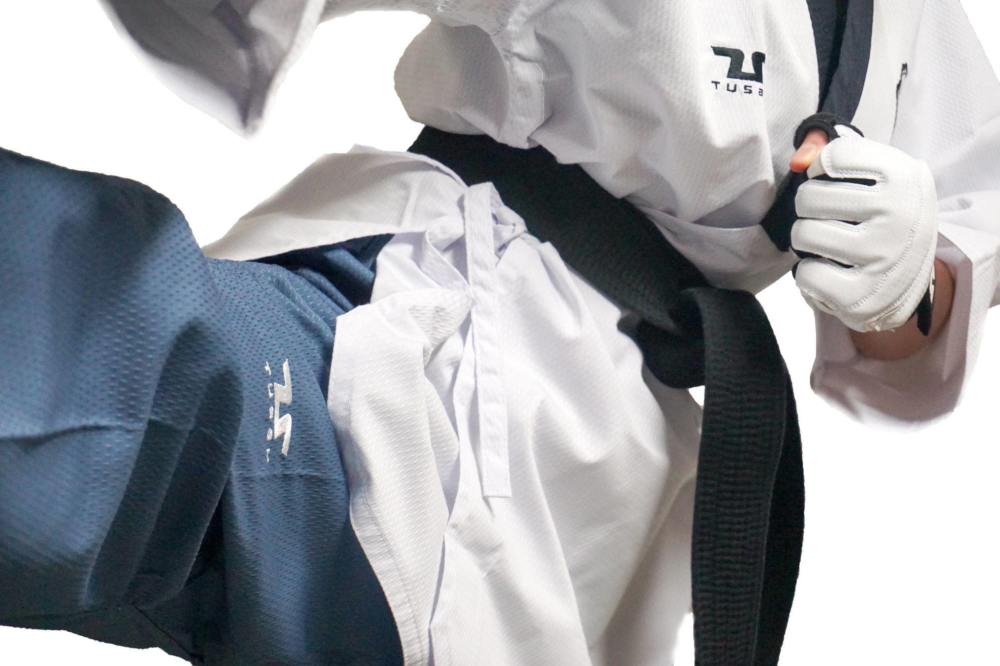 Poomsae Easyfit Poom Maschile TUSAH per Taekwondo OMOLOGATO WT per forme