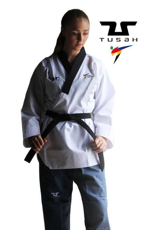 Poomsae Professional Femminile Tusah per Taekwondo Omologato WT Made in Korea per forme e competizioni