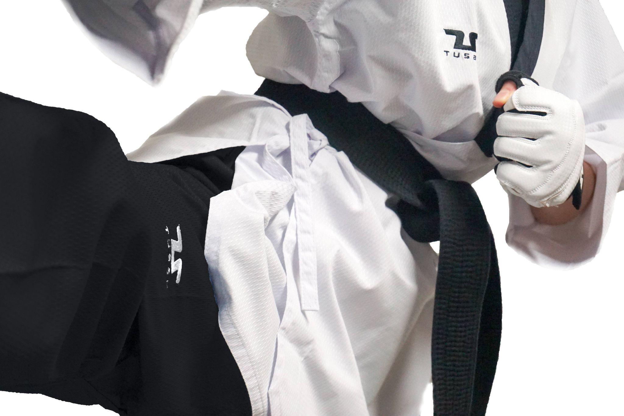 Tusah - Poomsae Professional Maschile per Taekwondo Omologato WT Made in Korea per forme e competizioni