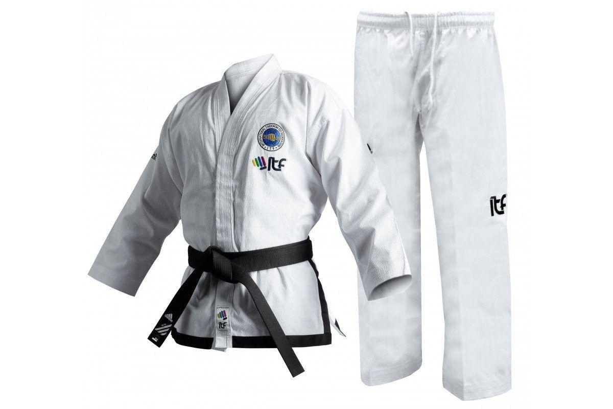 Adidas - Dobok Istruttore per Taekwondo ITF con Nuovo logo Omologato