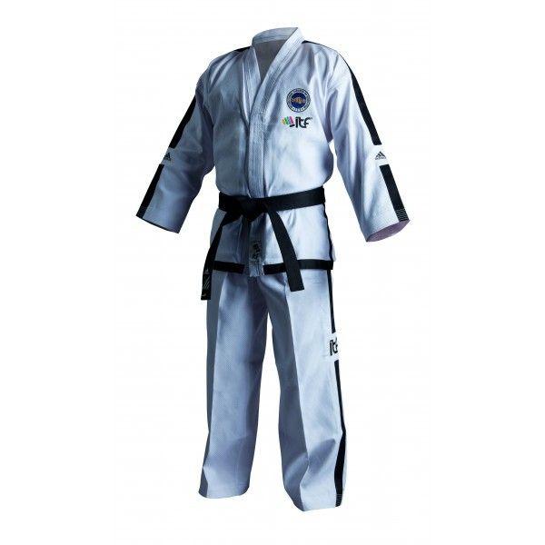Adidas - Dobok Master per Taekwondo ITF con Nuovo Logo Omologato