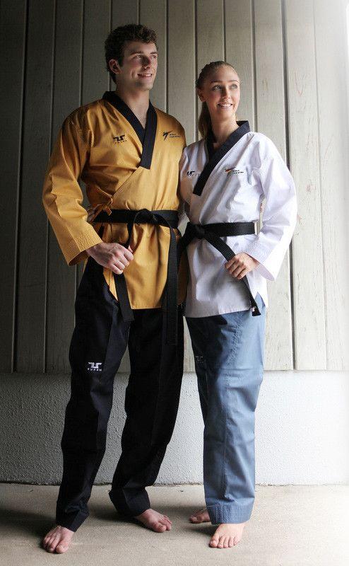 Poomsae Professional Senior Tusah per Taekwondo Omologato WT Made in Korea per forme e competizioni
