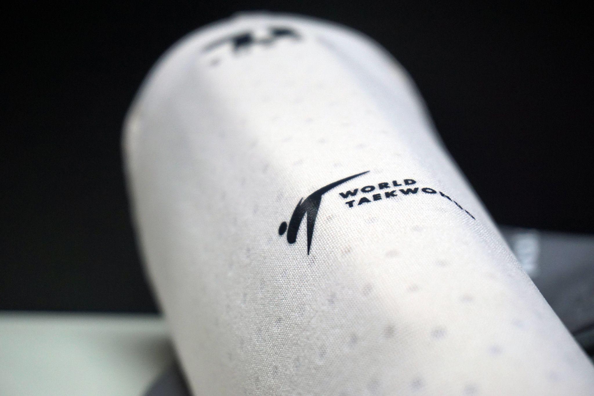 Paratibia per Taekwondo Tusah Premium Fighter Special Edition Omologati WT WTF Protezione Tibia