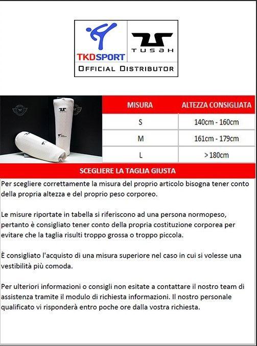 Parabraccia per Taekwondo Tusah Premium Fighter Special Edition Omologati WT WTF Protezione Braccio