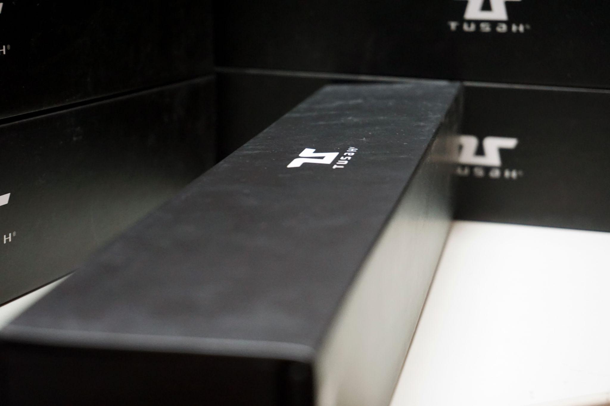 Cintura Nera Tusah Fighter per Taekwondo Karate e Judo con custodia Magnetica 100% Cotone di alta qualita