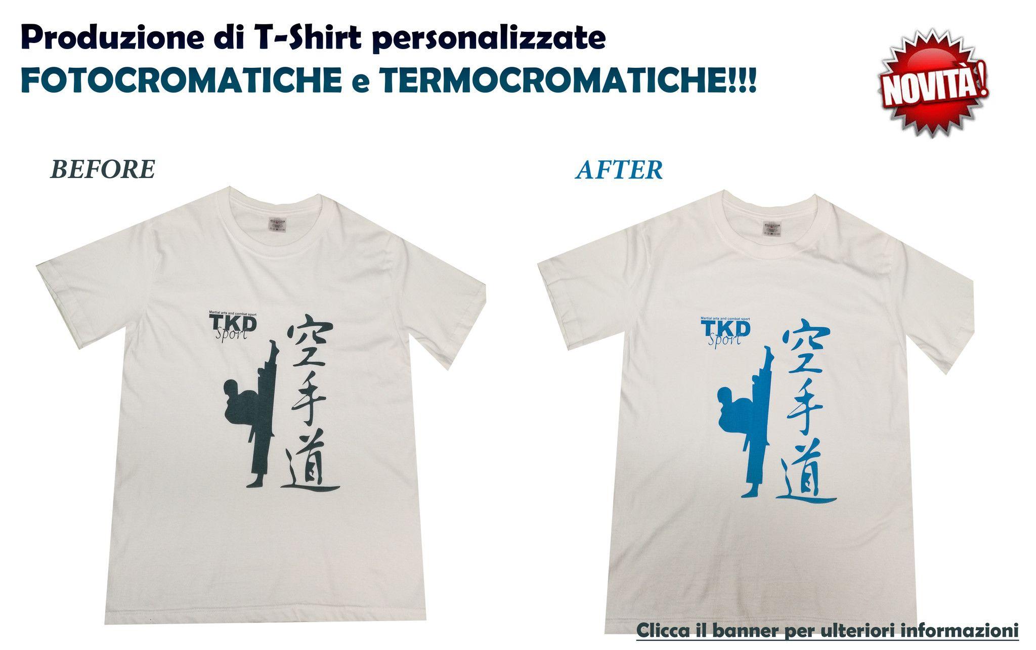 T-Shirt Taekwondo TKD SPORT Termocromatica