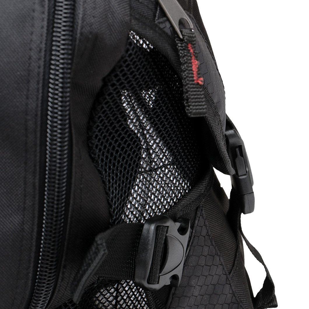 Zaino per Taekwondo Tusah Pro-Back Pack con porta Corazza esterno per Arti Marziali WT WTF