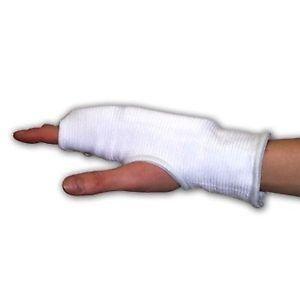 Master - Guantini in Cotone per allenamento Karate, Taekwondo bambini e adulti protezione mani