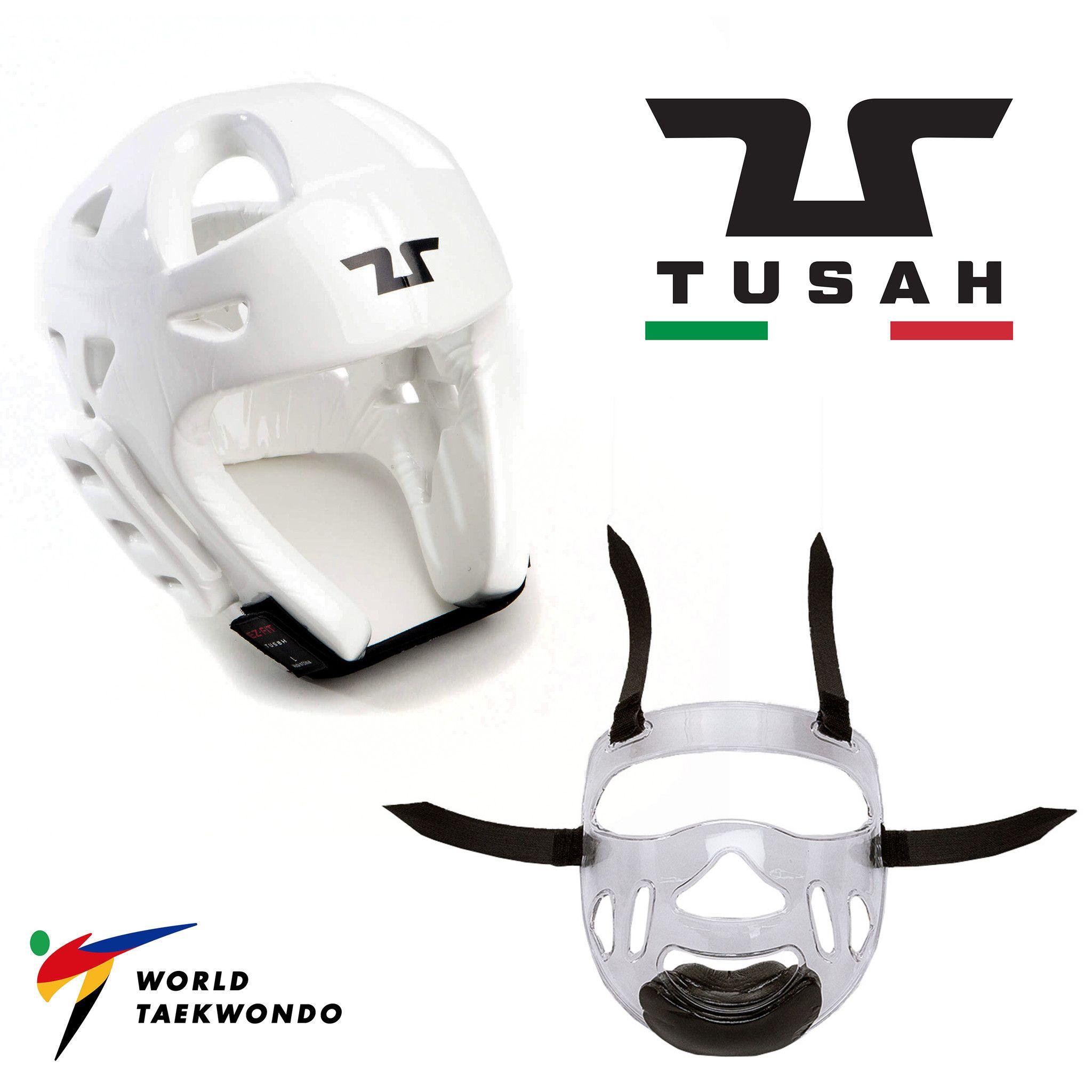 Tusah - Caschetto con Maschera / Visiera Omologata WT