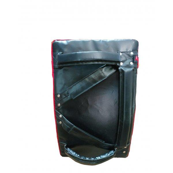 Master - Deluxe Iranian Pad Shield Scudo per Taekwondo, Karate, per calci e pugni con più prese