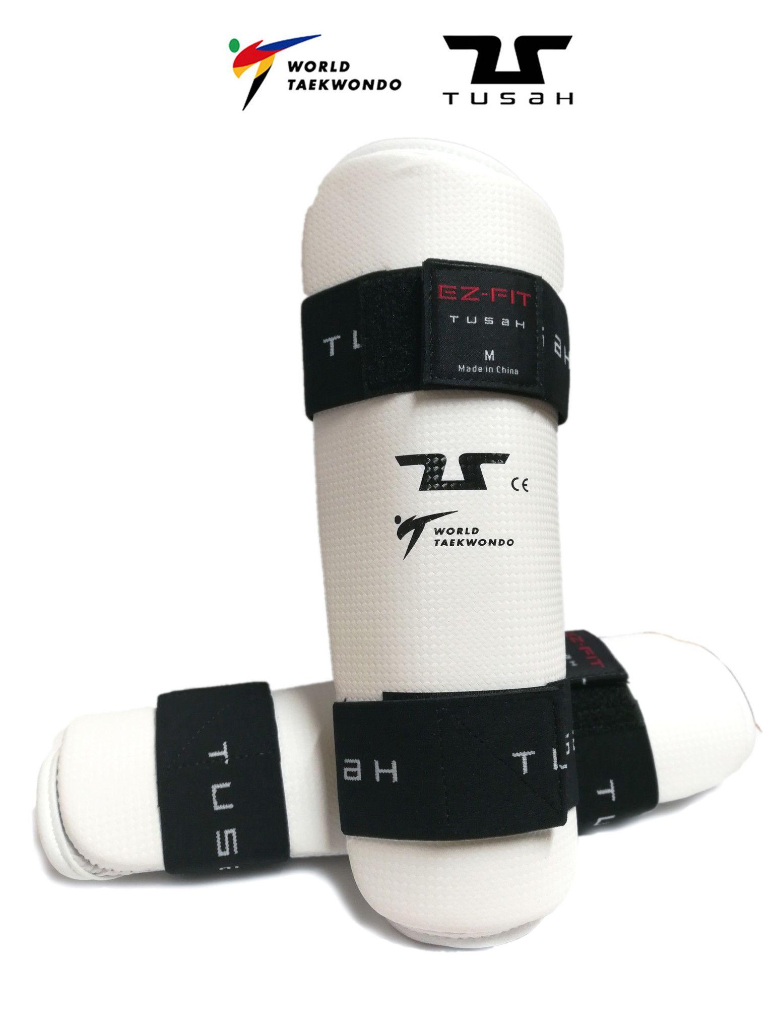 Paratibia per Taekwondo Tusah Omologati WT WTF per allenamenti o competizioni tibia