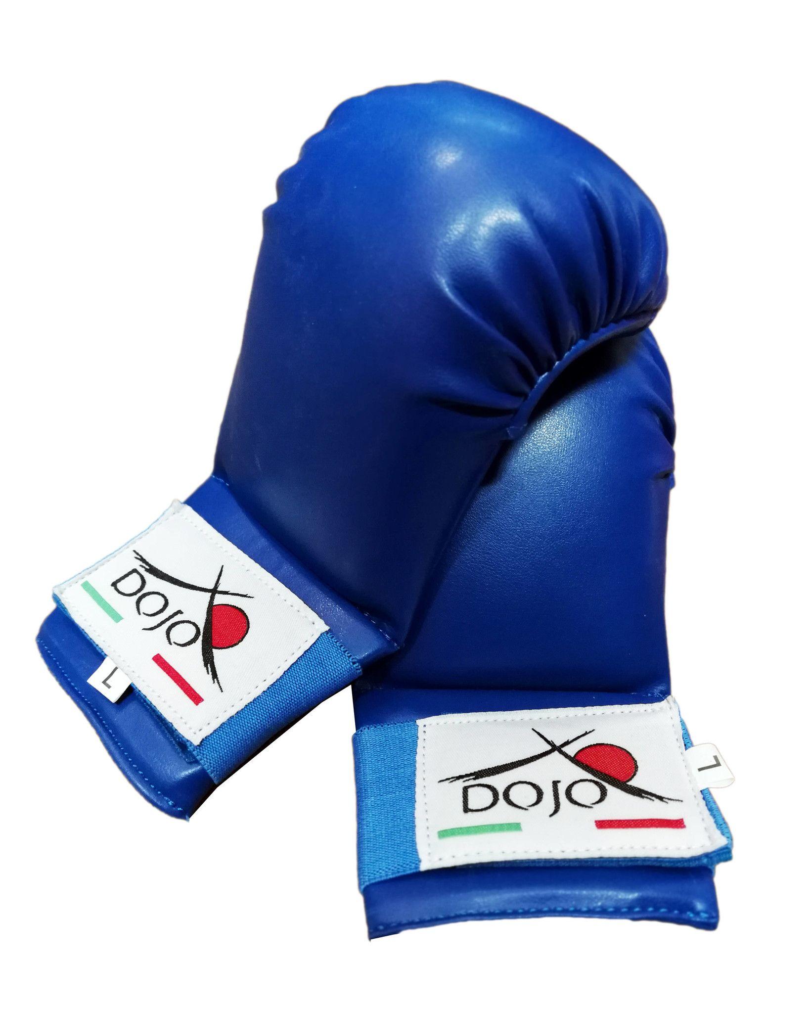 Dojo - Guantini per karate Blu training