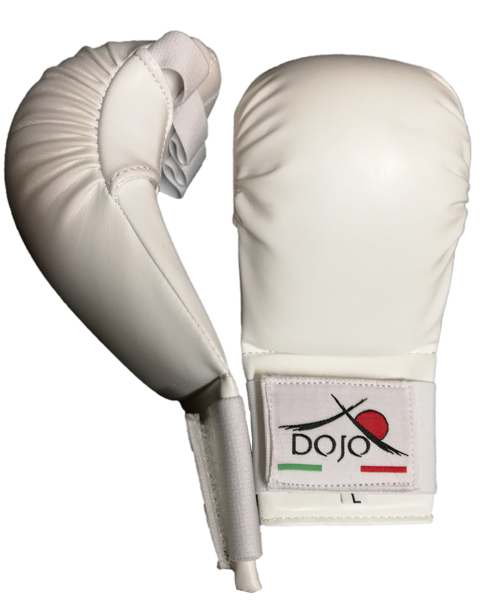 Dojo - Guantini per karate Bianchi training
