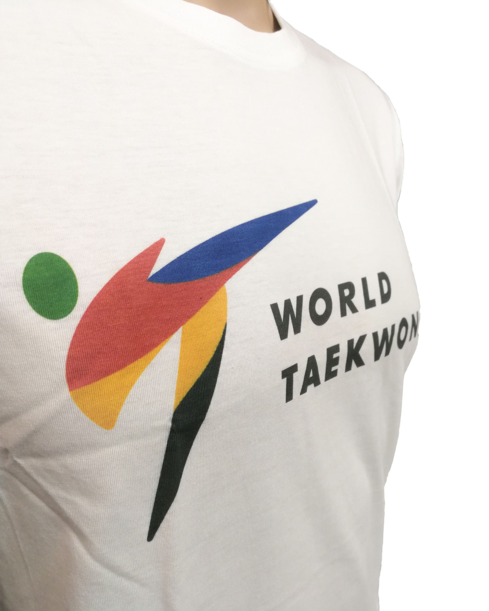 "Tusah - T-shirt ""World Taekwondo"" WT"