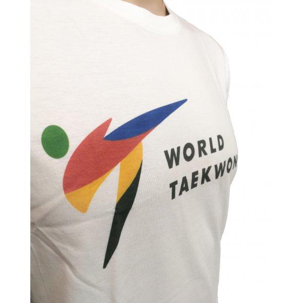 """Tusah - T-shirt """"World Taekwondo"""" WT"""