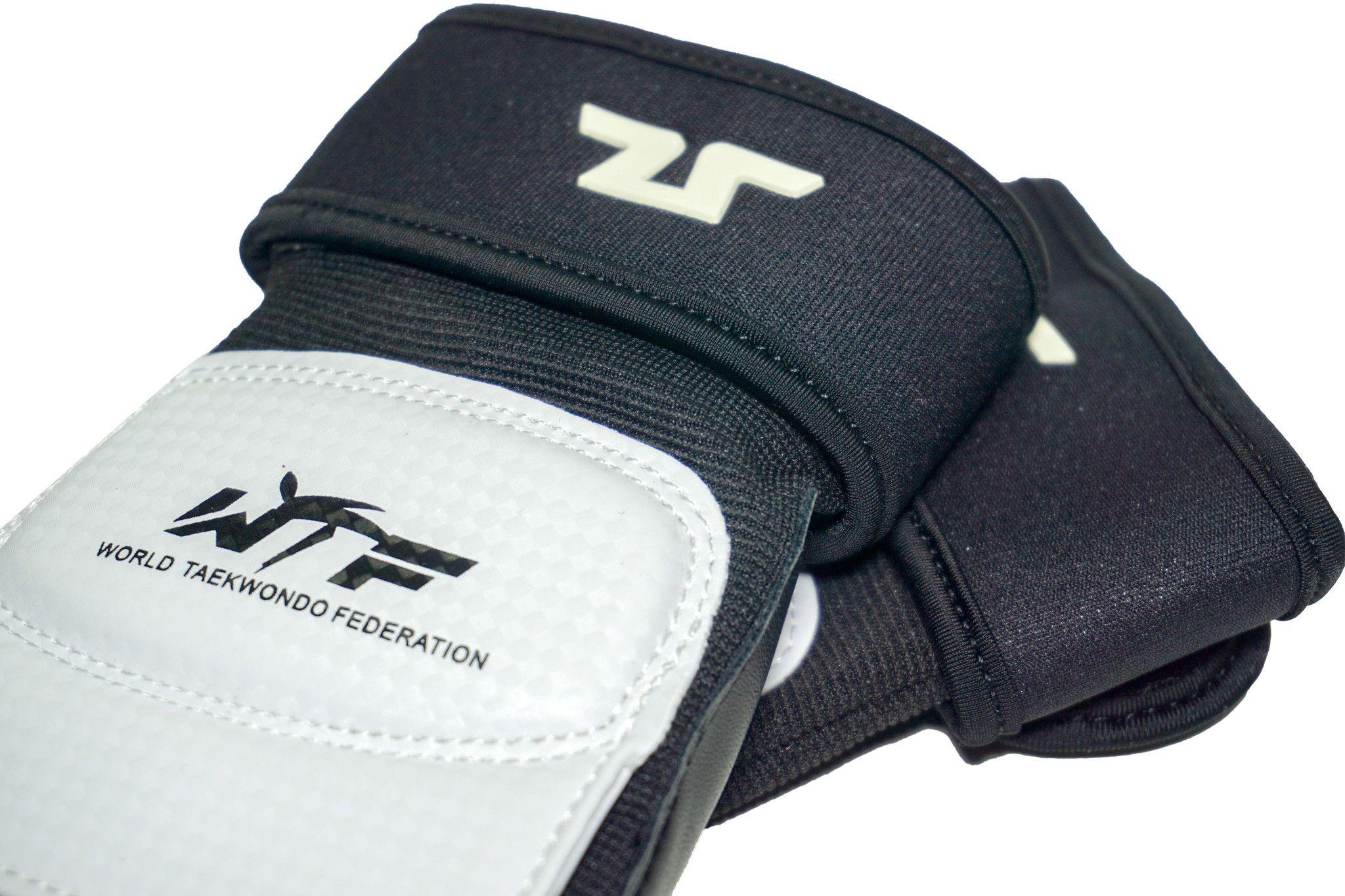Parapiedi per Taekwondo Tusah Omologati WT WTF per competizioni e allenamenti protezione piedi