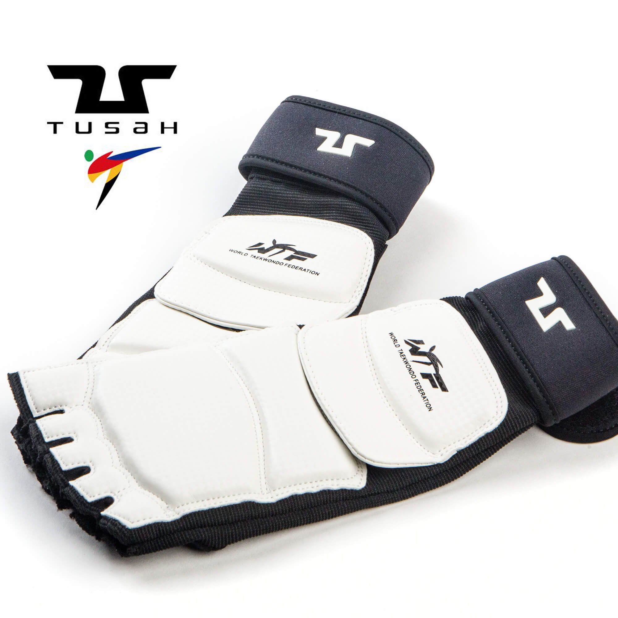 Kit Taekwondo Protezioni Completo Omologato WT Tusah Corpetto Caschetto Guantini