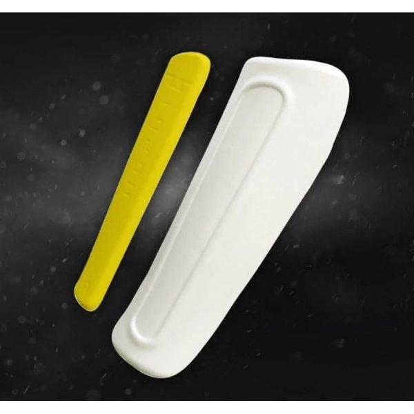 Kit Offerta Protezioni Premium Tusah per Taekwondo Omologato WT WTF Parabraccia Paratibia in Memory Foam