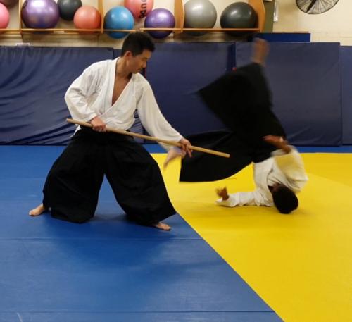 Nunchaku in gomma con laccio Ninjutsu Kung-Fu Karate Arti marziali Armi Kobudo