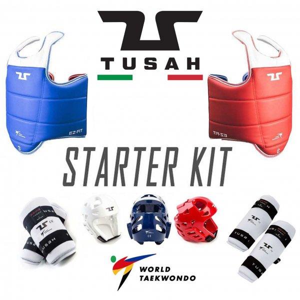 "Kit per Taekwondo "" Starter "" Tusah Omologato WT"