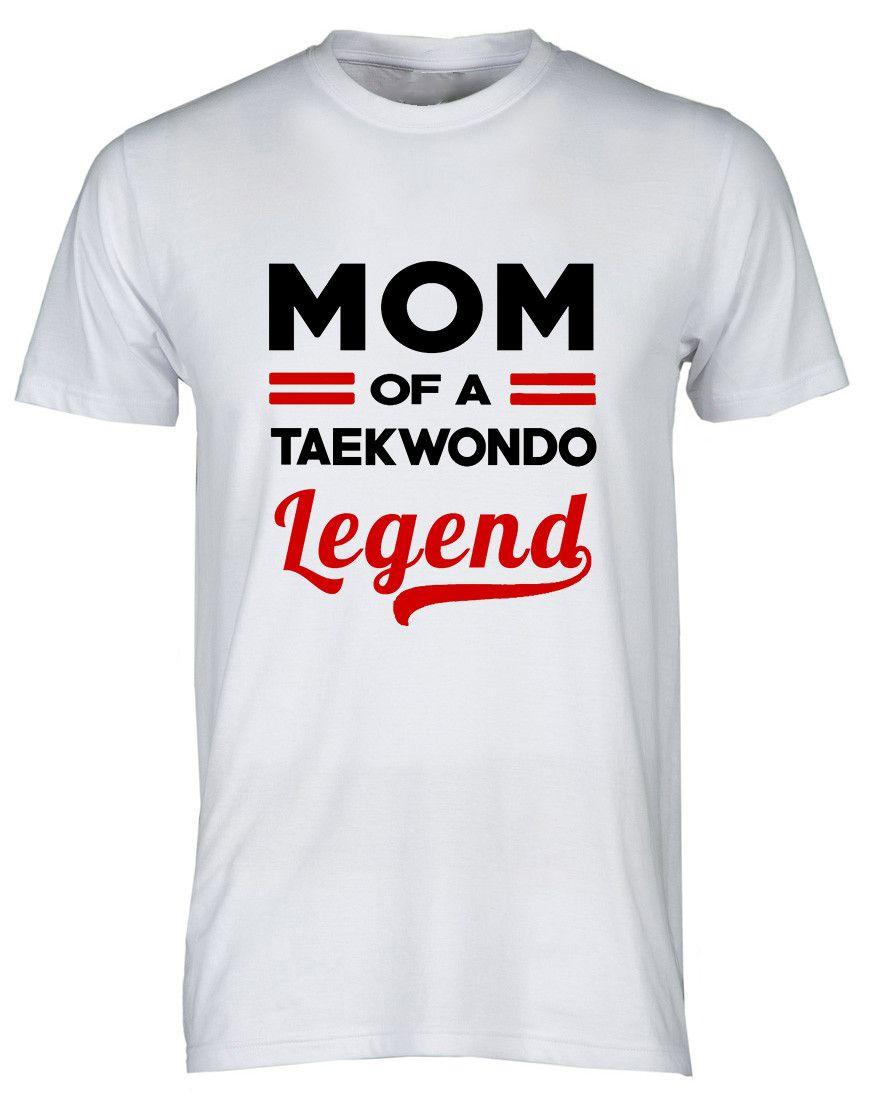 "T-shirt Taekwondo "" Mom&Dad "" Legend"