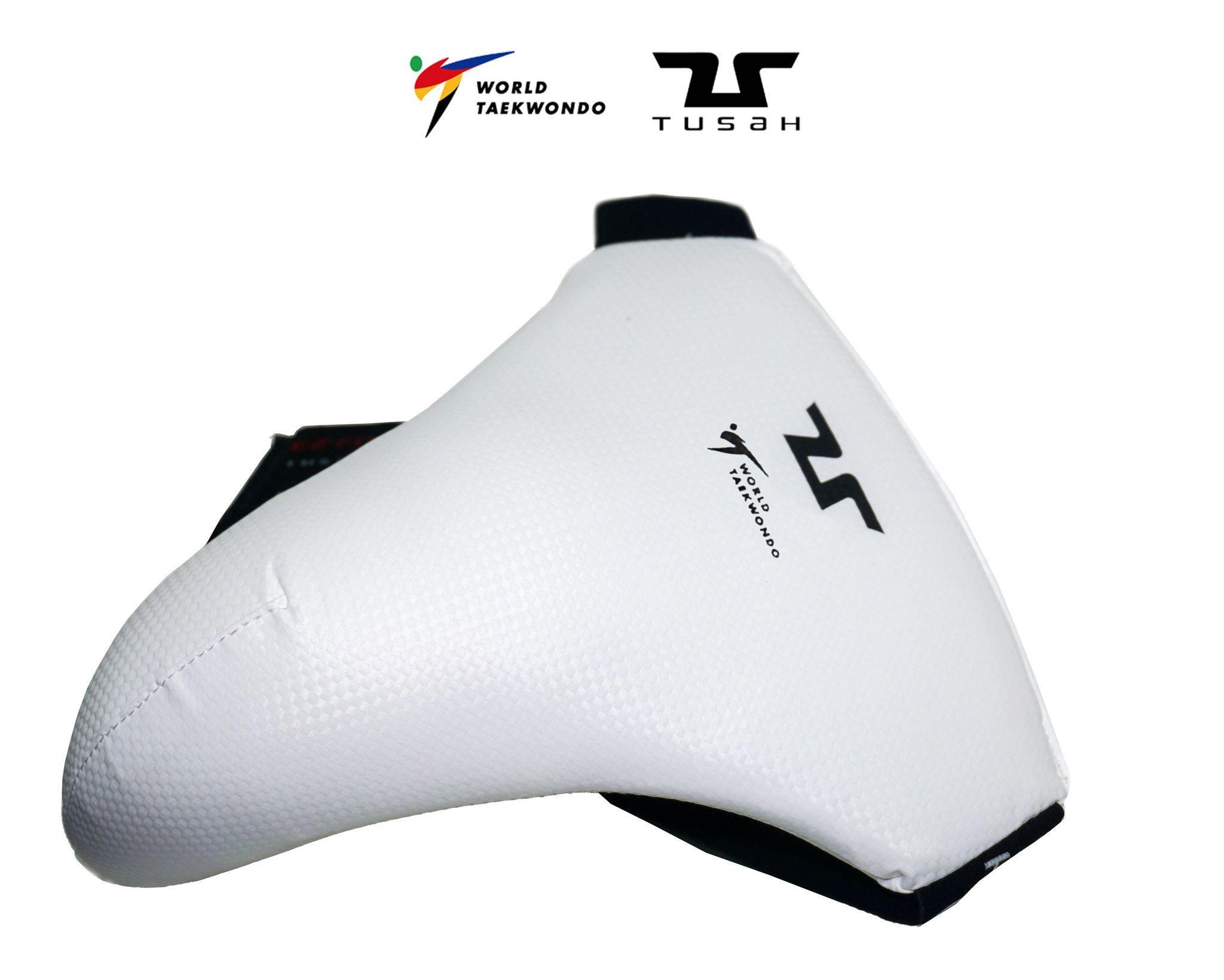 Tusah - Conchiglia Maschile per Taekwondo Omologata WT protezione inguine