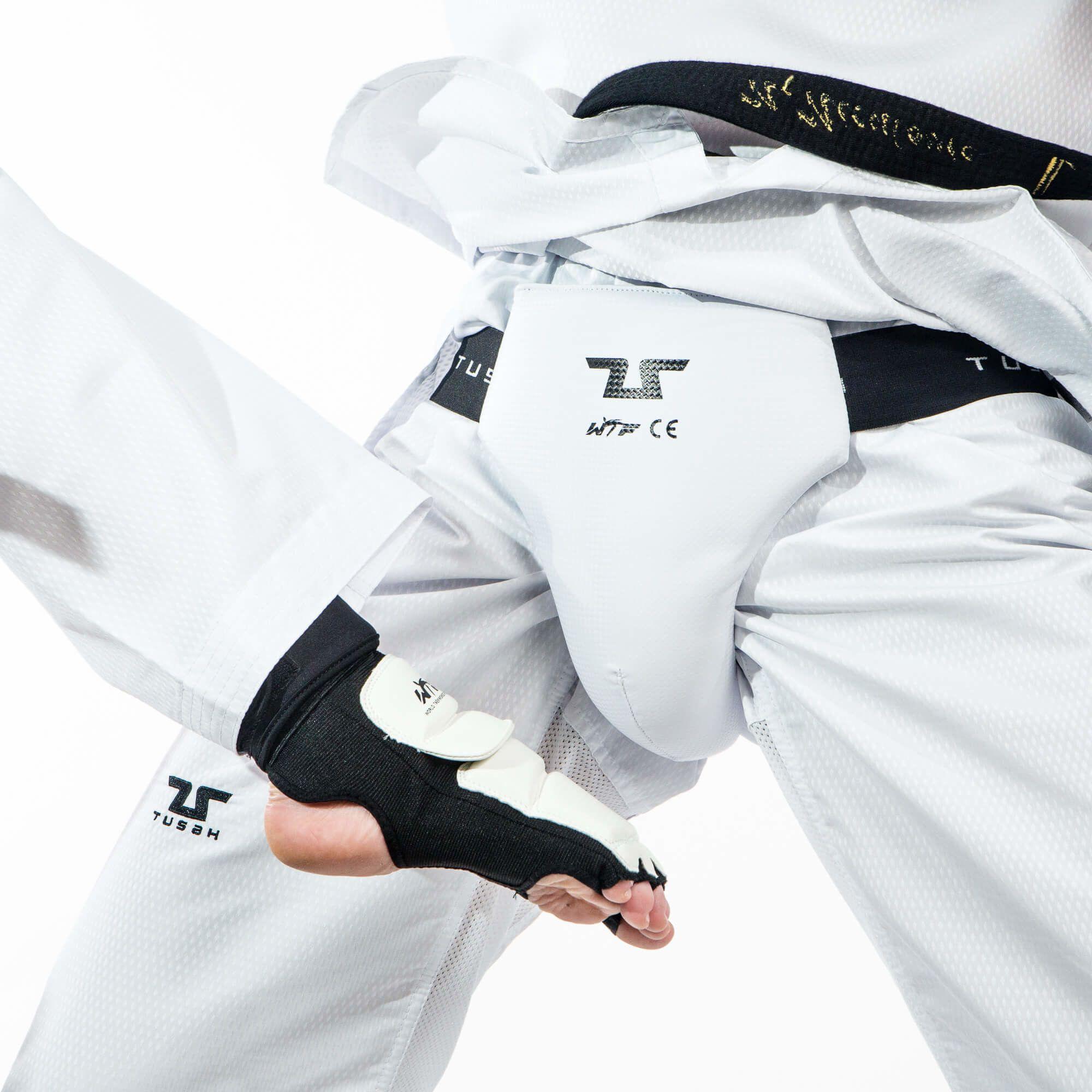 Conchiglia Maschile Tusah per Taekwondo Omologata WT protezione inguine